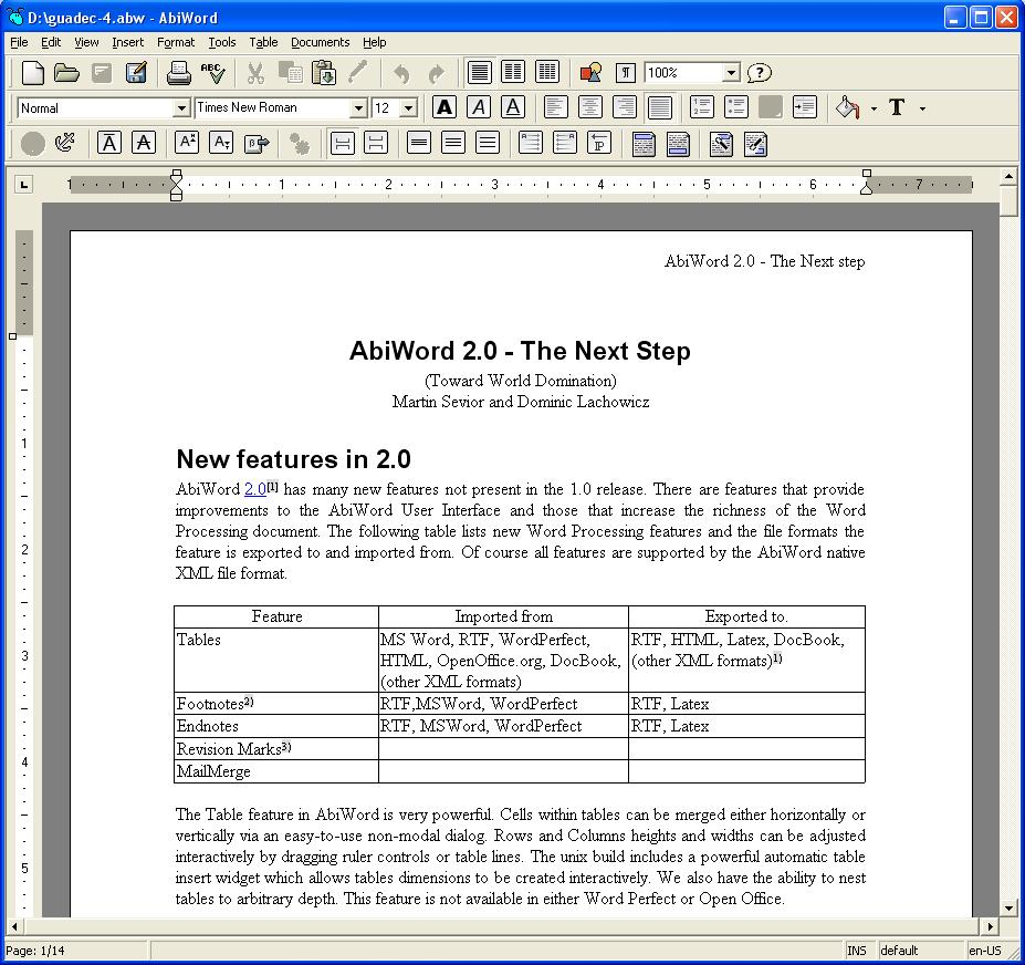 Word Processors and MS Word Alternatives