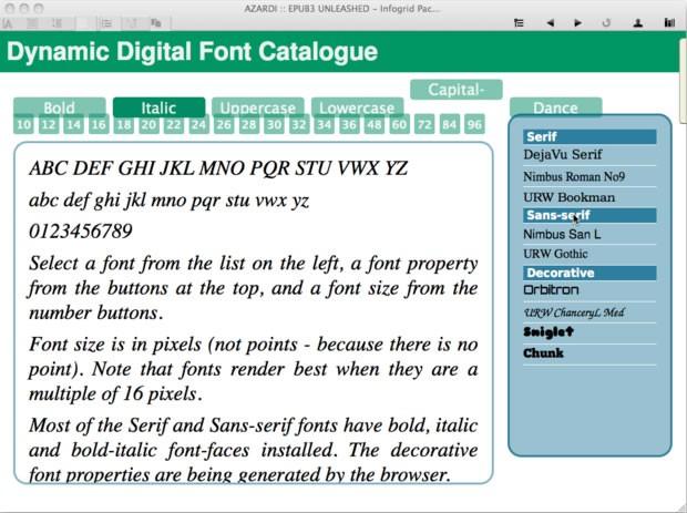 azardi typography