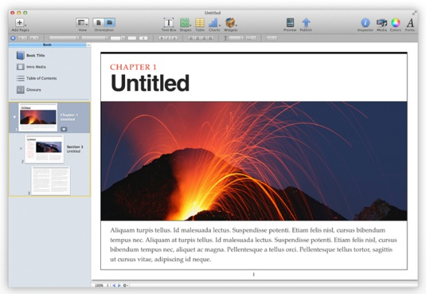 iBooks Author templates