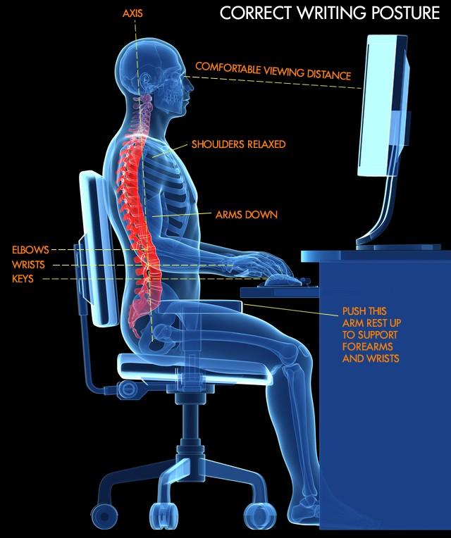 correct-writing-posture
