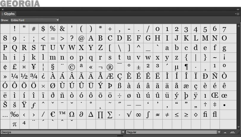 georgia-glyphs