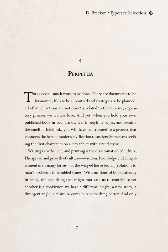 Perpetua font by Eric Gill